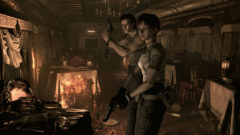The Resident Evil 0 game is available May 21. (Graphic: Business Wire)