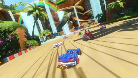 The Team Sonic Racing game is available May 21. (Graphic: Business Wire)