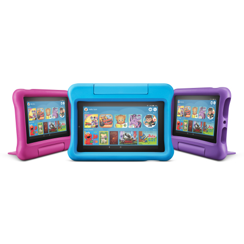 All-New Fire 7 Kids Edition (Photo: Business Wire)
