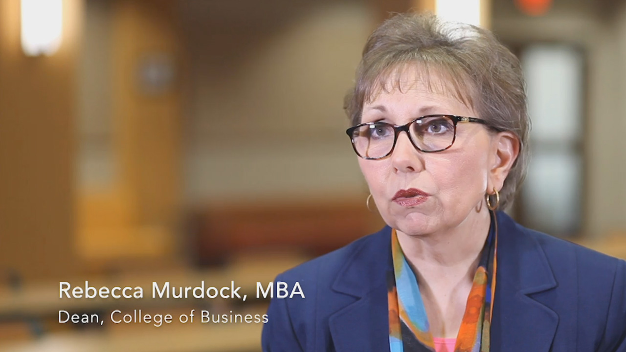 Hear from Dean of the College of Business, Rebecca Murdock, on the importance of obtaining a higher level of expertise in today's business market, and the strengths that the faculty bring to the Bellevue University DBA.