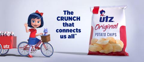 The Little Utz® Girl Source: Utz Quality Foods, LLC.