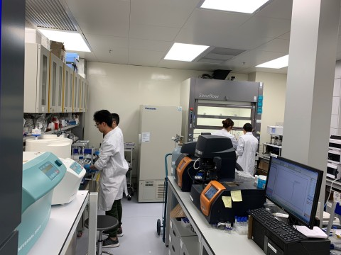 Existing laboratory facilities managed by Pyrinas (Photo: Business Wire)