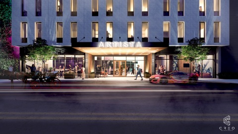 Courtesy of CREO architects - Artista Hotel San Antonio TX (Photo: Business Wire)