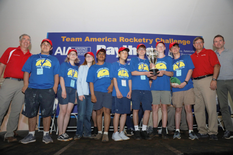 Congratulations to the 2019 Team America Rocketry Challenge champions, Madison West High School of Madison, Wisconsin! (Photo: Business Wire)