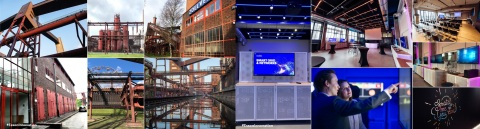 Industrial tradition meets the digital reinvention of industry at Accenture's new Industry X.0 Innovation Center in Essen, Germany (Photo: Business Wire)