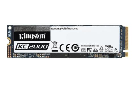 Kingston Introduces Next-Gen KC2000 NVMe PCIe SSD (Photo: Business Wire)