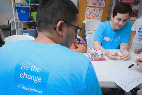 In Dallas/Fort Worth, 715 Schwab employees will provide volunteer service for 42 projects supporting 13 nonprofits. (Photo: Business Wire)