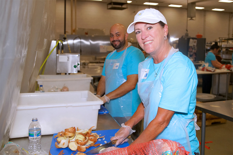 In Phoenix, 1,300 Schwab employees will provide volunteer service for 46 projects supporting 25 nonprofits. (Photo: Business Wire)