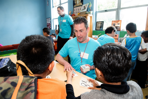 In San Francisco, 400 Schwab employees will provide volunteer service for 20 projects supporting 20 nonprofits. (Photo: Business Wire)