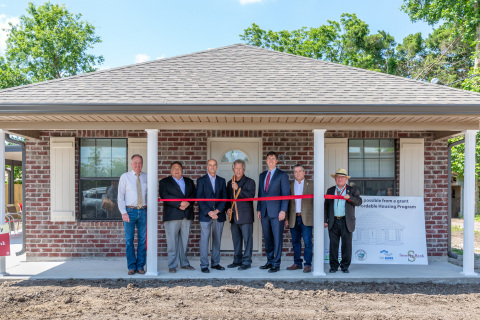 Construction began on low-income housing for special-needs residents, thanks in part to a $500,000 Affordable Housing Program grant from Synergy Bank and FHLB Dallas. (Photo: Business Wire)