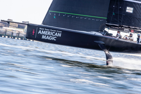 American Magic has integrated 3D printing technology from Stratasys to produce reliable, repeatable final parts for its competitive sailing yacht (Photo: Business Wire)