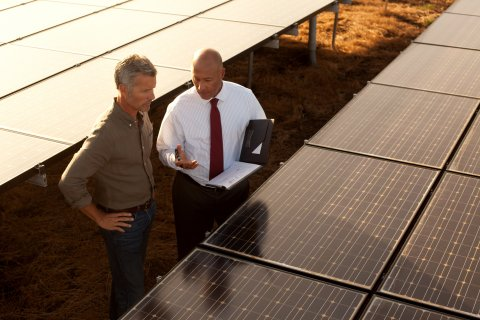 Wells Fargo Named Bank Sector Tax Equity Investor of the Year by Power Finance & Risk magazine. The bank's Renewable Energy & Environmental Finance group recognized for funding U.S. wind, solar projects. (Photo: Business Wire)