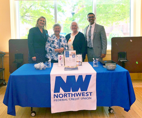 Employees of Northwest Federal Credit Union and the Herndon Senior Center (Photo: Business Wire)