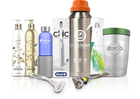 Many of P&G's largest global brands will participate in Loop, an innovative sustainable platform being tested in the New York metro area (Photo: Business Wire)