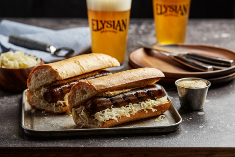 Increasing consumer demand for plant-based products led Field Roast and Elysian Brewing to answer requests for more choice with a bratwurst that is made with few and fresh simple ingredients. (Photo: Business Wire)