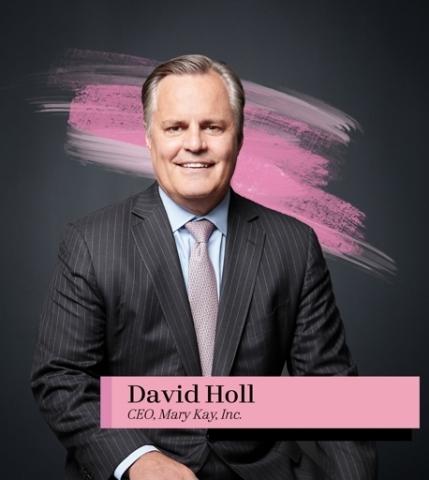 David Holl, CEO Mary Kay Inc. (Photo: Mary Kay Inc.)