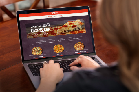 The New Caseys.com - Easier, Faster & Friendlier; Caseys.com Improvements and Enhancements Debut This Week (Photo: Casey's General Stores)