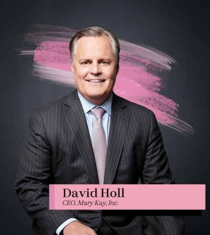 David Holl, CEO Mary Kay Inc. (Photo: Mary Kay Inc.)