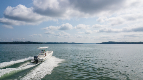 Unit sales of new powerboats, including outboard boats, were up 4 percent to 276,000 in 2018. (Photo: Business Wire)