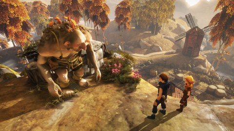 The Brothers: A Tale of Two Sons game is available May 28. (Photo: Business Wire)