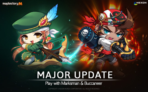 MapleStory M Major Update Banner (Graphic: Business Wire)