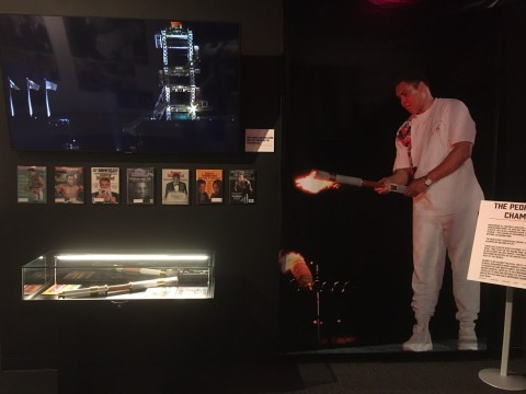 The Muhammad Ali: Greatest of All Time™ exhibit at the new Graceland Exhibition Center in Memphis. (Photo: Business Wire)
