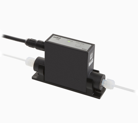 Thermal Micro Flow Rate Liquid Flow Meter Model F7M (Photo: Business Wire)
