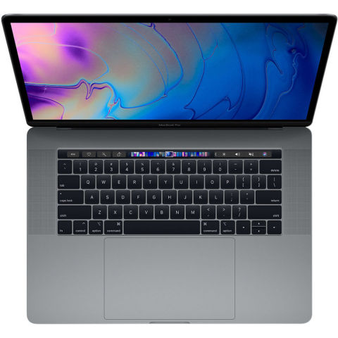 """Apple 15.4"""" MacBook Pro with Touch Bar has been upgraded with a 9th Generation Intel Core eight-core processor. (Photo: Business Wire)"""