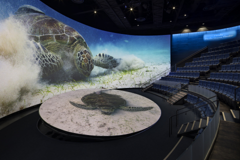 The new Pacific Vision wing at the Aquarium of the Pacific, Long Beach, CA (© 2019 Tom Bonner)