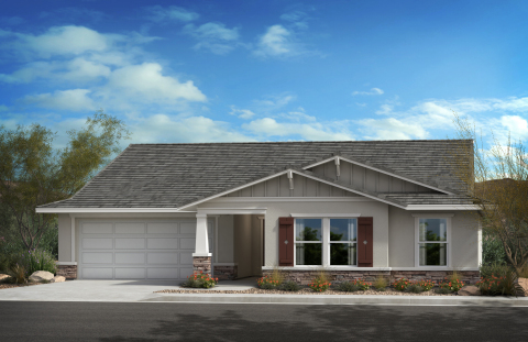 New KB homes now available in Lancaster, California. (Photo: Business Wire)