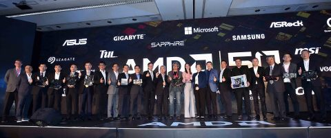 Group photo at 2019 COMPUTEX International Press Conference & CEO Keynote (Photo: Business Wire)