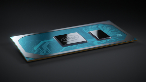 A photo released May 28, 2019, at Computex 2019 shows the 10th Gen Intel Core processor. 10th Gen Intel desktop processors unveiled at Computex enable fast, immersive experiences with up to 4 cores and 8 threads, up to 4.1 GHz max turbo frequency and up to 1.1 GHz graphics frequency. (Source: Intel Corporation)