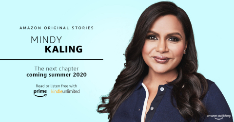 Next summer, Mindy Kaling shares her charming and intimate reflections on life changes—big and small—from the past few years in a forthcoming essay collection from Amazon Original Stories, available free for Prime members. (Photo: Business Wire)