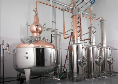 Eastside commissions new still designed for the Company's American Single Malt Whiskey production. ( ...