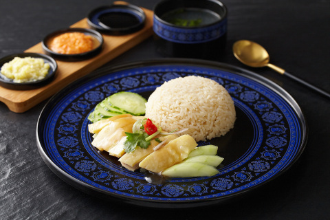 """The """"Street Food Gala"""" will feature 16 food booths and 6 food trucks serving up Hong Kong, American, German and other regional delicacies, including the signature dish of Tian Tian Hainanese Chicken Rice, a Michelin Bib Gourmand restaurant. (Photo: Business Wire)"""