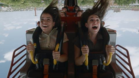 El Diablo, the 14th coaster at Six Flags Over Texas, sends riders back and forth, propelling them head over heels through a series of six inversions. (Photo: Business Wire)