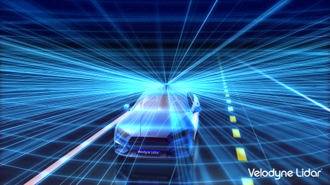Velodyne Lidar's Alpha Puck. (Graphic: Business Wire)