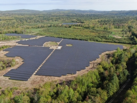 The nearly 7 MW solar project for Green Mountain Power in the Sand Hill Park neighborhood of Essex,  ...
