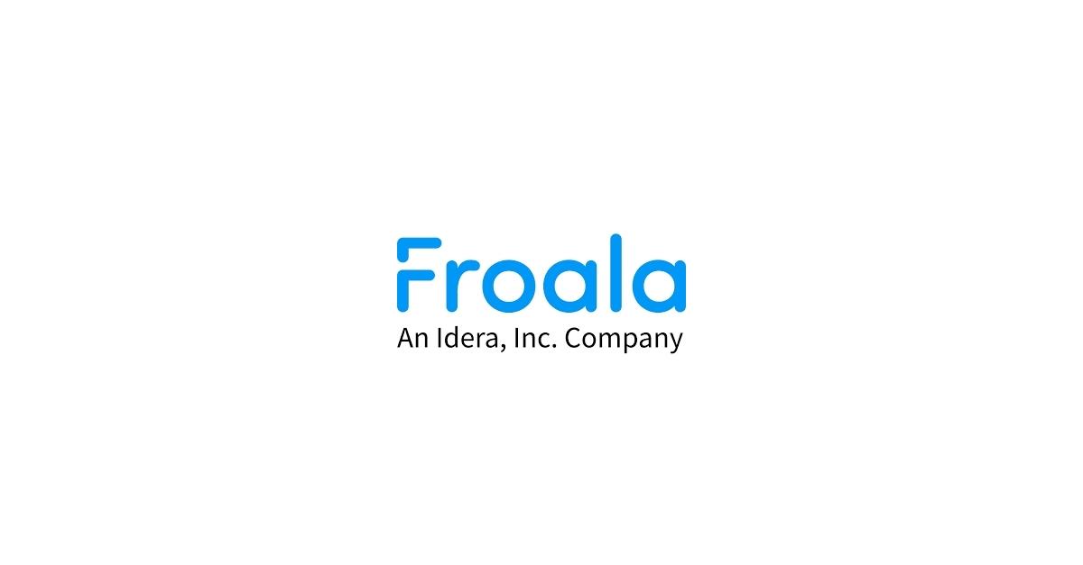 Froala Debuts Next-Gen Text Editor with Smart Toolbar