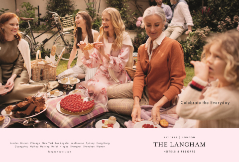 "The Langham Hotels & Resorts launches New Global Brand Campaign: ""Celebrate The Everyday"" (Photo: Bu ..."
