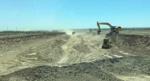 Milestone has begun construction of its first RCRA-exempt oilfield waste landfill located in Orla, T ...