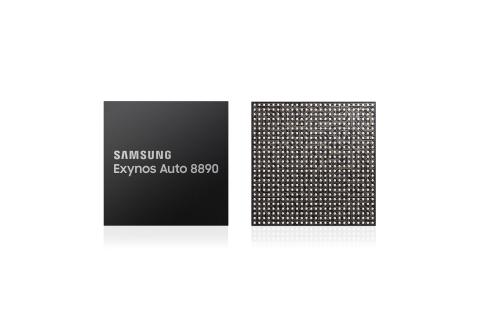 Samsung's new Exynos Auto 8890 processor. (Photo: Business Wire)