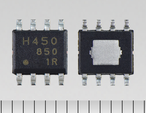 "Toshiba: Low power consumption brushed DC motor driver IC with popular pin-assignment HSOP8 package ""TB67H450FNG"" (Photo: Business Wire)"