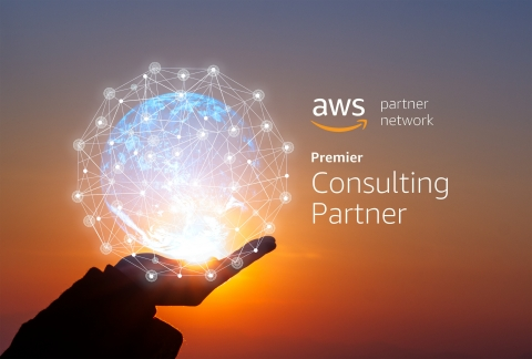 BAE Systems has been recognized as an Amazon Web Services (AWS) Premier Consulting Partner, a designation awarded to organizations that demonstrate strong experience building, migrating, and managing mission-critical workloads and applications on AWS government and commercial clouds. (Graphic: BAE Systems)