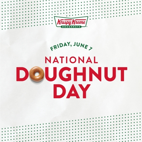 Fans can enjoy any doughnut for free Friday, June 7, and if 1 million are given away, Krispy Kreme will give America its newest doughnut creation for free later in June (Photo: Business Wire)