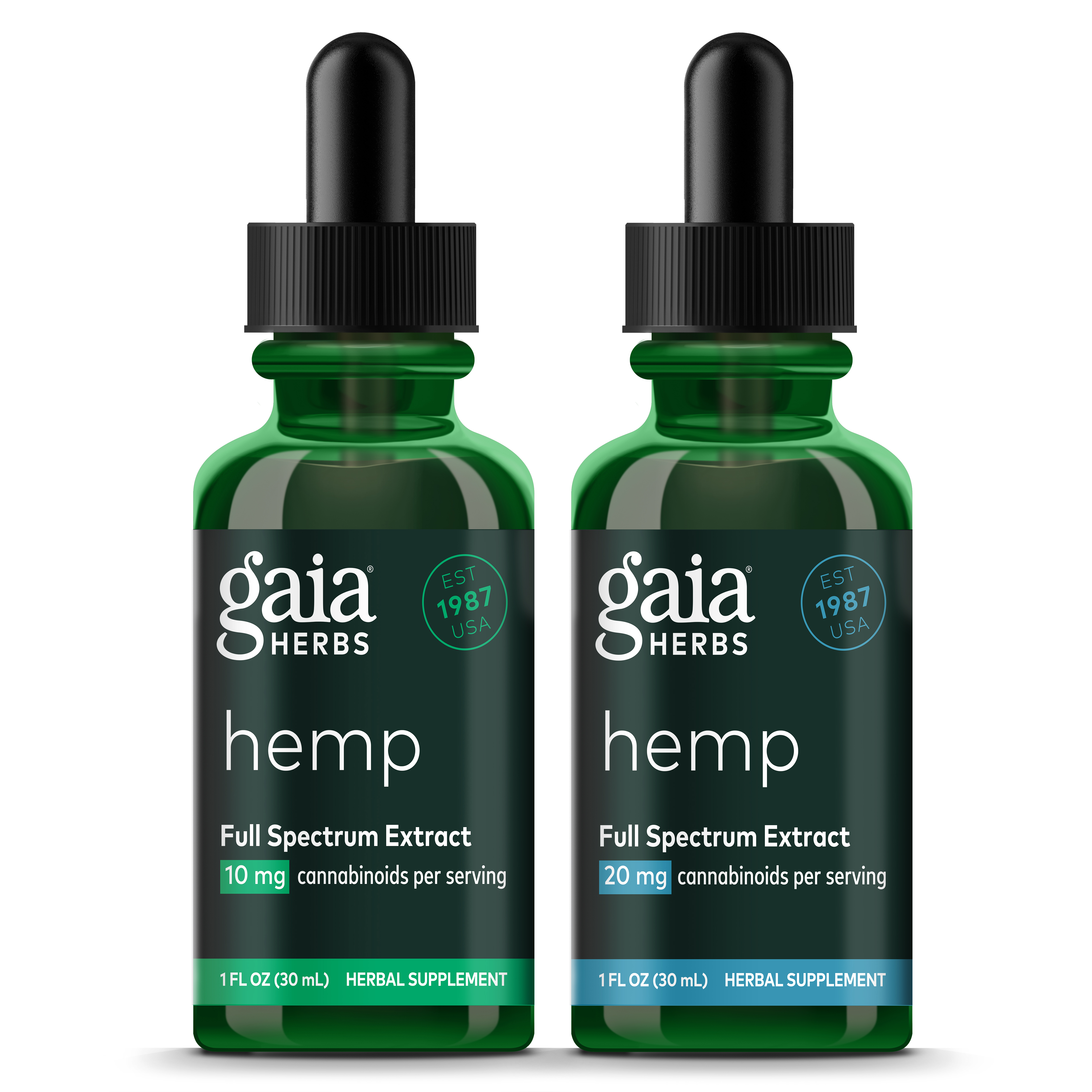 Gaia Herbs Launches Premium Full Spectrum Hemp Line | Business Wire
