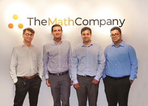 (L-R) Anuj Krishna, Co-founder and Head of Assets at TheMathCompany, Arihant Patni, Entrepreneur, Ve ...