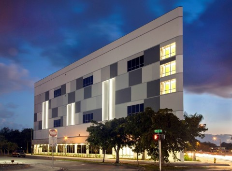 Public Storage opened four new locations in the Miami area today, including this building at 2190 SW 8th St., Miami, FL 33135 in Little Havana. In total, the company now has 95 storage locations to choose from in the Miami area. (Photo: Business Wire)