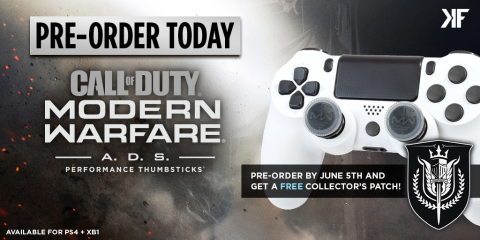 Go to KontrolFreek.com to order your Call of Duty®: Modern Warfare® - A.D.S. Performance Thumbstick® (Photo: Business Wire)
