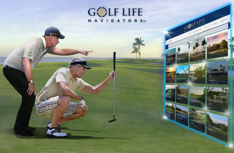 Golf Life Navigators Co-Founder Lynn Josephson helping consumers filter 100s of private club membership options. (Photo: Business Wire)
